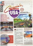 Scan of the preview of Cruis'n USA published in the magazine Joypad 060, page 1