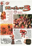 Scan of the preview of Earthbound 64 published in the magazine Joypad 062