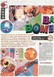 Scan of the preview of Bomberman 64 published in the magazine Joypad 064