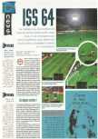 Scan of the preview of International Superstar Soccer 64 published in the magazine Joypad 065