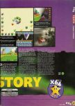 Scan of the review of Yoshi's Story published in the magazine X64 04, page 2