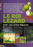 Scan of the review of Yoshi's Story published in the magazine X64 04