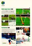 Scan of the preview of Michael Owen's World League Soccer 2000 published in the magazine Electronic Gaming Monthly 126, page 1