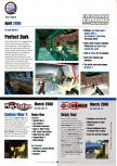 Scan of the preview of Perfect Dark published in the magazine Electronic Gaming Monthly 128
