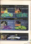 Scan of the walkthrough of Extreme-G published in the magazine X64 HS01, page 4