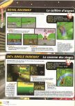 Scan of the walkthrough of Mario Kart 64 published in the magazine X64 HS1