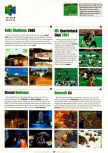 Scan of the preview of Rally Challenge 2000 published in the magazine Electronic Gaming Monthly 133, page 1