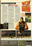 Scan of the walkthrough of WCW Nitro published in the magazine Expert Gamer 59, page 1
