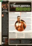 Scan of the walkthrough of WWF Wrestlemania 2000 published in the magazine Expert Gamer 67, page 1