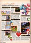 Scan of the walkthrough of Yoshi's Story published in the magazine X64 HS2