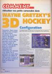 Scan of the walkthrough of Wayne Gretzky's 3D Hockey published in the magazine X64 HS02, page 1