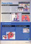 Scan of the walkthrough of Wayne Gretzky's 3D Hockey published in the magazine X64 HS02, page 2