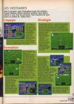 Scan of the walkthrough of International Superstar Soccer 64 published in the magazine X64 HS02, page 2