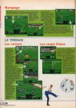 Scan of the walkthrough of International Superstar Soccer 64 published in the magazine X64 HS02, page 3