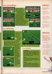 Scan of the walkthrough of International Superstar Soccer 64 published in the magazine X64 HS02, page 4