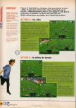 Scan of the walkthrough of International Superstar Soccer 64 published in the magazine X64 HS02, page 5