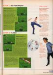 Scan of the walkthrough of International Superstar Soccer 64 published in the magazine X64 HS02, page 6