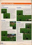 Scan of the walkthrough of International Superstar Soccer 64 published in the magazine X64 HS02, page 9