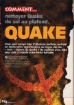 Scan of the walkthrough of Quake published in the magazine X64 HS02, page 1