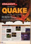 Scan of the walkthrough of Quake published in the magazine X64 HS02, page 6