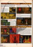 Scan of the walkthrough of Quake published in the magazine X64 HS02, page 12