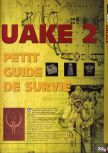Scan of the walkthrough of Quake II published in the magazine X64 HS07, page 2