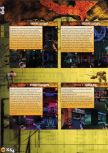 Scan of the walkthrough of Quake II published in the magazine X64 HS07, page 9