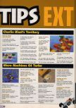 Scan of the walkthrough of Charlie Blast's Territory published in the magazine X64 HS7