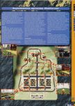 Scan of the walkthrough of Vigilante 8 published in the magazine X64 HS7
