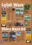 Scan of the walkthrough of Wave Race 64 published in the magazine X64 HS7