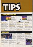 Scan of the walkthrough of Bio F.R.E.A.K.S. published in the magazine X64 HS7