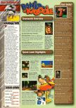 Scan of the walkthrough of Banjo-Kazooie published in the magazine EGM² 48, page 1