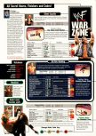 Scan of the walkthrough of WWF War Zone published in the magazine Expert Gamer 53, page 1