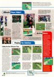 Scan of the walkthrough of Madden NFL 99 published in the magazine Expert Gamer 54, page 2