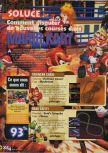 Scan of the walkthrough of Mario Kart 64 published in the magazine X64 HS9