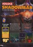 Scan of the walkthrough of Shadow Man published in the magazine X64 HS9