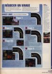 Scan of the walkthrough of World Driver Championship published in the magazine X64 HS9