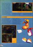 Scan of the walkthrough of Rayman 2: The Great Escape published in the magazine X64 HS9