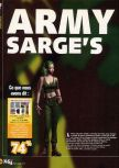 Scan of the walkthrough of Army Men: Sarge's Heroes published in the magazine X64 HS09, page 1