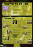 Scan of the walkthrough of Army Men: Sarge's Heroes published in the magazine X64 HS09, page 3
