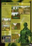 Scan of the walkthrough of Army Men: Sarge's Heroes published in the magazine X64 HS09, page 4