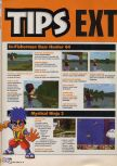 Scan of the walkthrough of Bass Hunter 64 published in the magazine X64 HS9