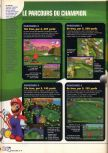 Scan of the walkthrough of Mario Golf published in the magazine X64 HS9