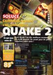 Scan of the walkthrough of Quake II published in the magazine X64 HS09, page 1