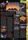 Scan of the preview of Doom 64 published in the magazine GamePro 096