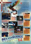 Scan of the review of Pilotwings 64 published in the magazine GamePro 097
