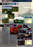 Scan of the preview of Rev Limit published in the magazine GamePro 099