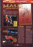Scan of the preview of Mace: The Dark Age published in the magazine GamePro 101, page 1