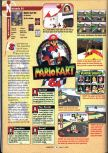 Scan of the review of Mario Kart 64 published in the magazine GamePro 103