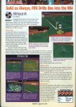 Scan of the review of FIFA 64 published in the magazine GamePro 104